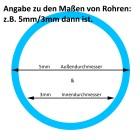 Grünke Acrylglas Rohre XT farblos klar Durchmesser 70 bis 100 mm 03