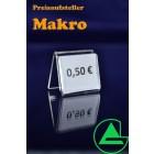 Preisaufsteller Makro - Grünke Acryl