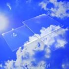 Grünke Acrylglas Zuschnit 05 farblos 25mm